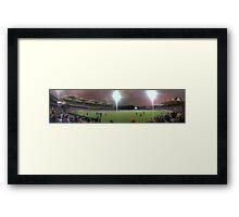 Redbacks win the 20/20, Adelaide Oval Framed Print
