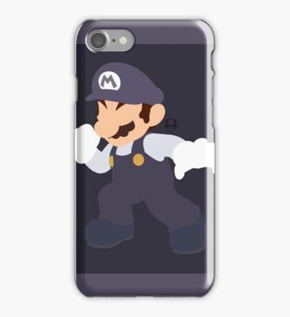 Mario (Cookies & Cream) - Super Smash Bros. iPhone Case/Skin