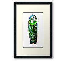 Evil Fish Surfboard 1 Framed Print