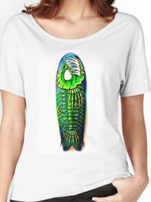 Evil Fish Surfboard 1 Women's Relaxed Fit T-Shirt
