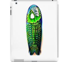 Evil Fish Surfboard 1 iPad Case/Skin