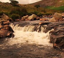 Water Falling in the Lake District by MichelleRees