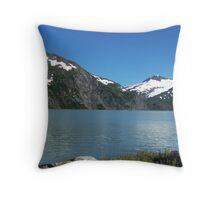 Portage Lake Throw Pillow