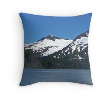 Snowcovered Throw Pillow
