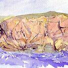 Achiltiebuie- rocky island by Peter Lusby Taylor