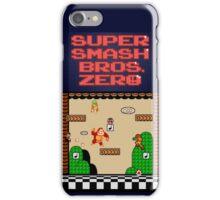 Super Smash Bros. Zero - Stage 1 - Retro Gaming iPhone Case/Skin