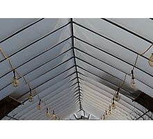 Ceiling Ribs Photographic Print