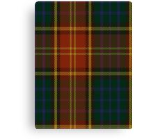 00352 Roscommon County District Tartan  Canvas Print