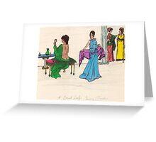 Grecian Beauties Greeting Card