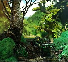 Jungle Spec op Photographic Print