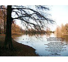 Serenity Photographic Print