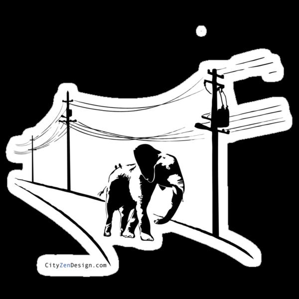Urban Elephant by CityZenDesign