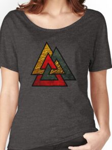 Odin Triangle Women's Relaxed Fit T-Shirt