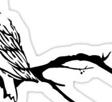 Owl Branch Sticker