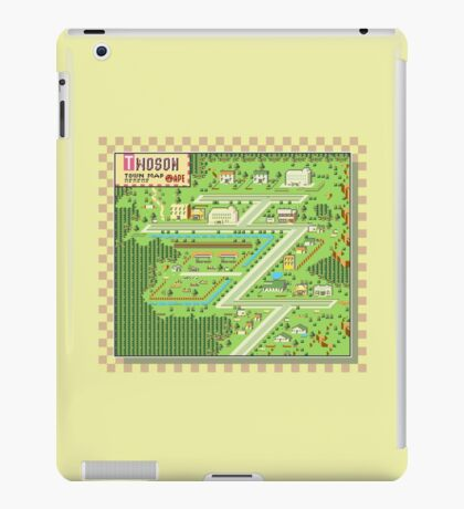 Twoson Town Map - Earthbound/Mother 2 iPad Case/Skin
