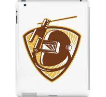 Welder Visor Welding Rod-Holder and Electrode iPad Case/Skin
