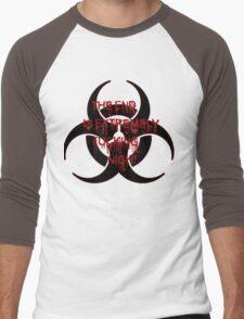 Zombie Infection Men's Baseball ¾ T-Shirt