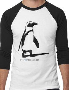 Penguin Men's Baseball ¾ T-Shirt