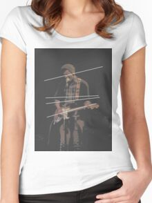 Holland Tunnel Guitarist Women's Fitted Scoop T-Shirt