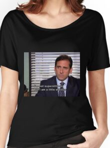 michael scott quote  Women's Relaxed Fit T-Shirt
