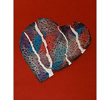 Torn Heart  Photographic Print