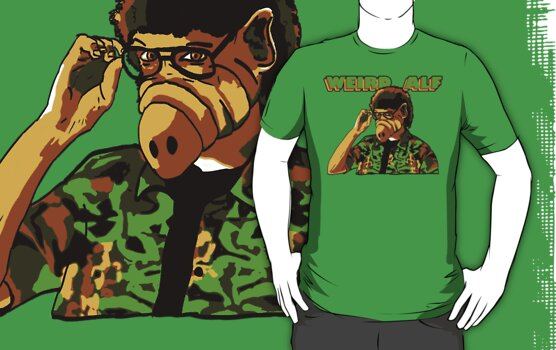 "Weird ""Alf"" Yankovic by Rechenmacher"