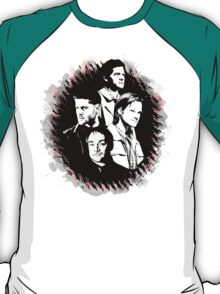 Supernatural - Heaven, Earth, and Hell T-Shirt