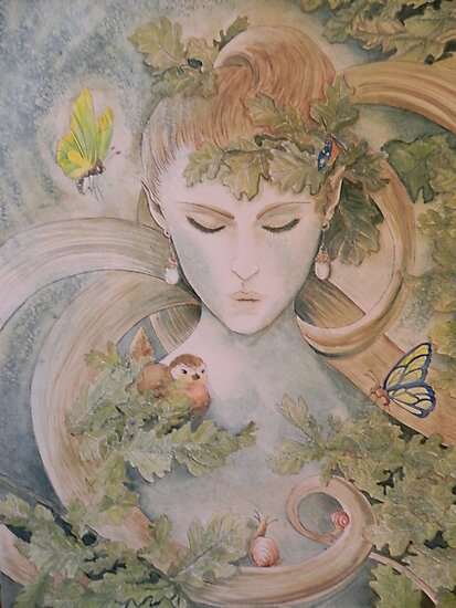 Soul of the forest by Margherita Bientinesi