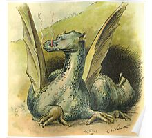 dragon by chester loomis Poster