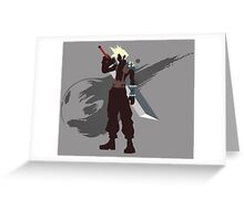 Cloud Strife - Sunset Shores Greeting Card