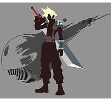 Cloud Strife - Sunset Shores Photographic Print