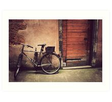 Lyon Vintage Bicycle  Art Print