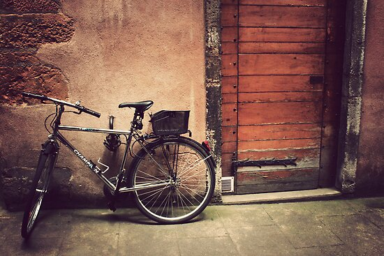 Lyon Vintage Bicycle  by Olivia Parker-Scott