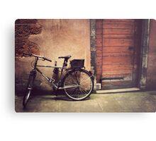 Lyon Vintage Bicycle  Metal Print