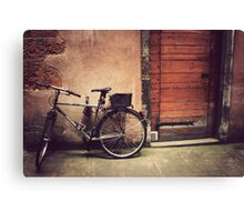 Lyon Vintage Bicycle  Canvas Print