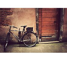 Lyon Vintage Bicycle  Photographic Print
