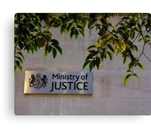 Ministry of Justice Canvas Print