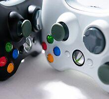 XBOX Controllers by Perry Van Dongen