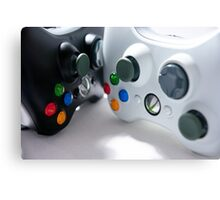 XBOX Controllers Canvas Print