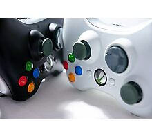 XBOX Controllers Photographic Print