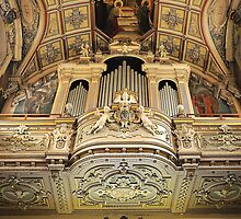 Organ --- 'St Mary of Jesus Church' Valletta Malta by Edwin  Catania