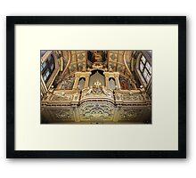Organ --- 'St Mary of Jesus Church' Valletta Malta Framed Print