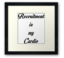 Recruitment Framed Print
