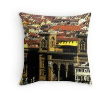 una serata di vista Throw Pillow