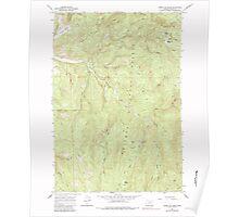 USGS Topo Map Oregon Limber Jim Creek 280520 1965 24000 Poster