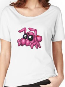 Cute Pink Spider Women's Relaxed Fit T-Shirt