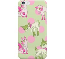 Cats and Deer polka dots iPhone Case/Skin