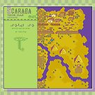 Scaraba Town Map - Earthbound/Mother 2 by Studio Momo╰༼ ಠ益ಠ ༽