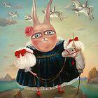 "Seasons - Autumn  33"" x 26""  Original Painting - Sold by Irena Aizen"