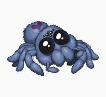 Cute Blue Spider by bogleech